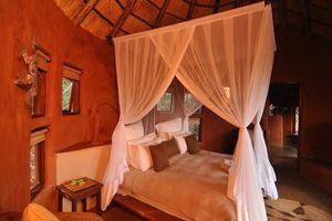 leshiba bedroom - Leshiba Wilderness Lodge - leshiba - Zuid-Afrika