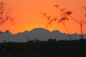 zonsondergang Balule Game Reserve - Balule Game Reserve - Zuid-Afrika