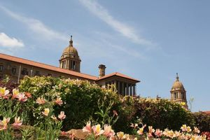 Union Buildings - Pretoria - Zuid-Afrika