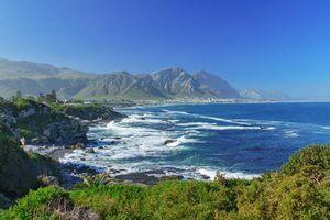 Oceaan en kustlandschap van Hermanus - Hermanus - Zuid-Afrika