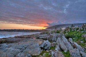 Zonsondergang, Hermanus - Hermanus - Zuid-Afrika