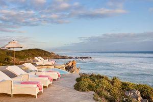 kustlijn met ligbedden Birkenhead House - Birkenhead House - Zuid-Afrika