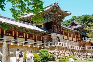Gyeongju Bulguksa voorkant view - Gyeongju - Zuid-Korea - foto: Korea Tourism Board