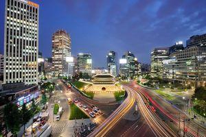 Seoul Sungnyemun night - Seoul - Zuid-Korea