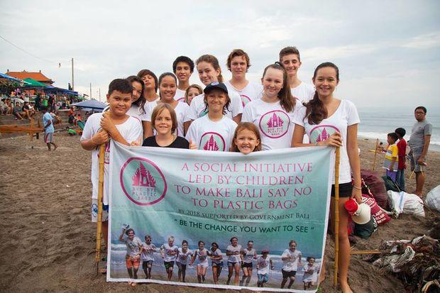 Indonesie - Bali - plastic Bali - project