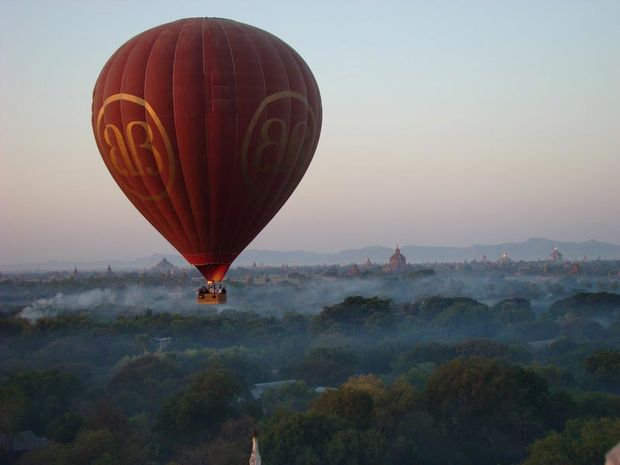 Ballonvaart Bagan