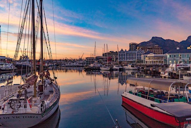 Kaapstad - waterfront - Zuid-Afrika