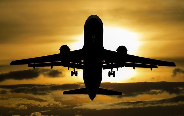algemeen - vertrek vliegtuig