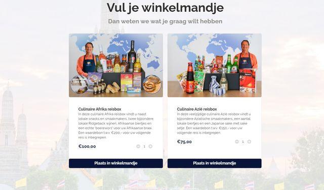 bestelpagina culinaire box - PANGEA