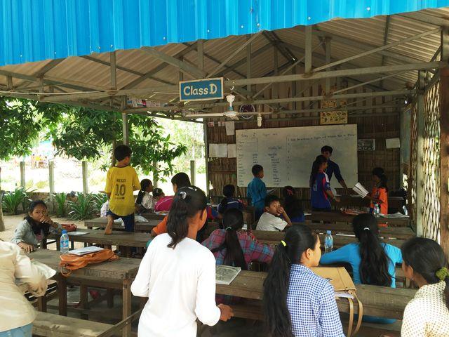 Cambodja - Siem Reap - Kok Dong Community school