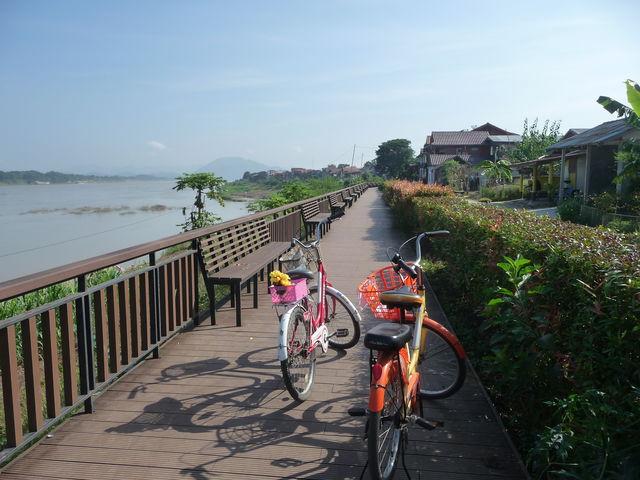 fietstocht - Chiang Khan - Thailand