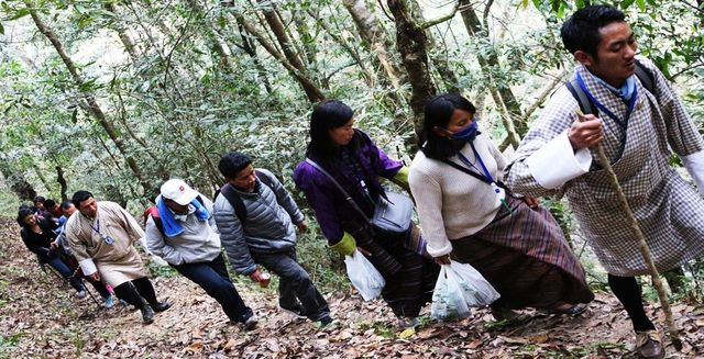 My Gakidh Village - village walk - Bhutan