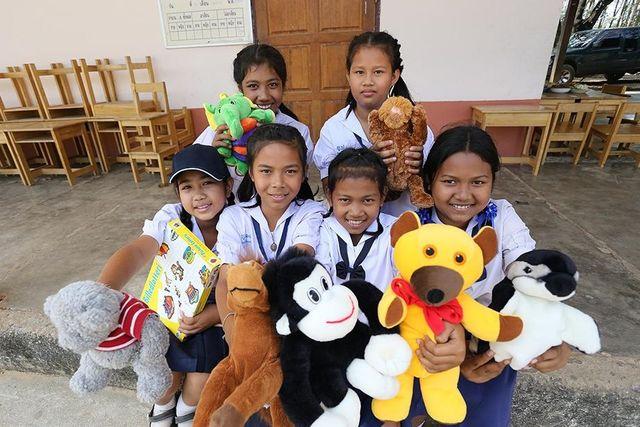 Thailand - Khao Sok National Park - Elephant Hills -donatie aan kinderen
