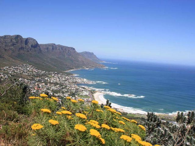 Uitzicht over Camps Bay vanaf Lion's Head - Camps Bay - Zuid-Afrika