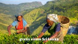 gratis-visum-Srilanka